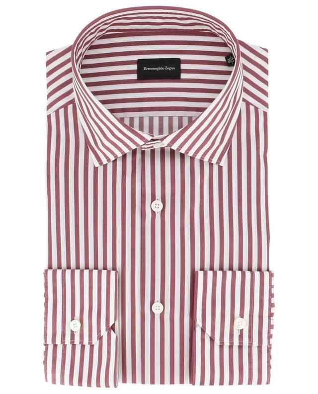 Milano striped slim fit shirt ERMENEGILDO ZEGNA