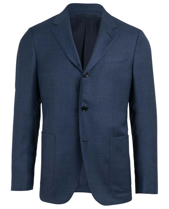 Wool and silk blend blazer ERMENEGILDO ZEGNA