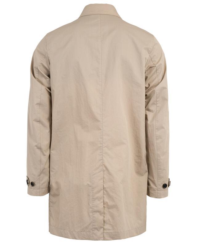 Coated cotton raincoat Z ZEGNA