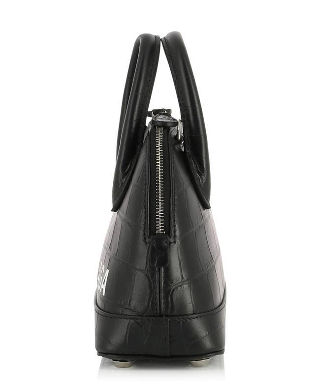 Ville Top Handle XXS mini croc effect handbag BALENCIAGA