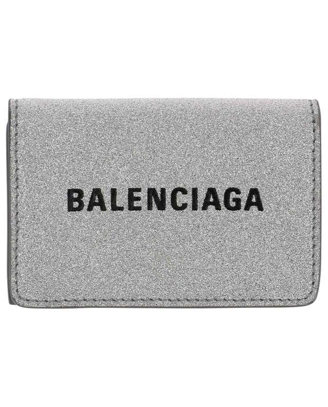 Mini-portefeuille pailleté Everyday BALENCIAGA