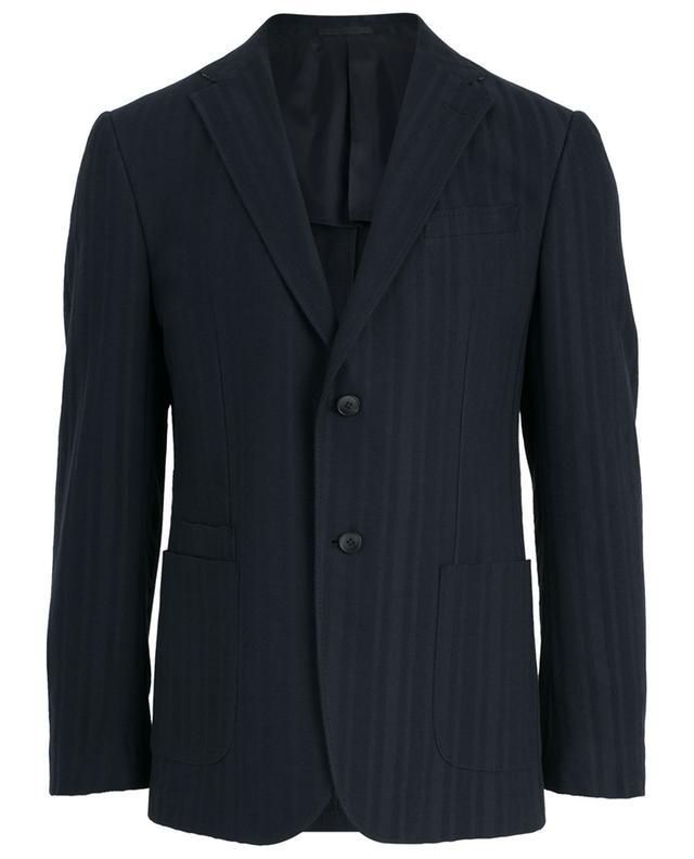 Textured cotton blazer Z ZEGNA