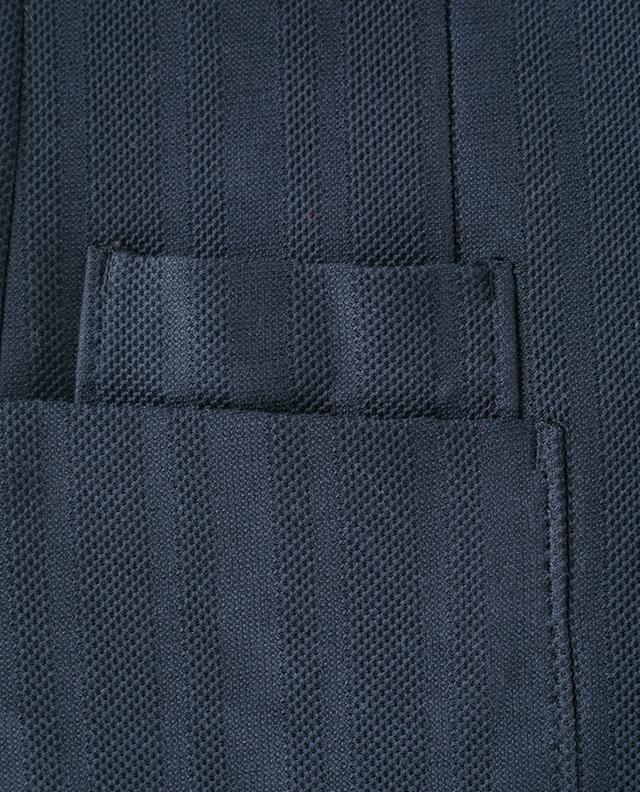 Blazer en coton texturé Z ZEGNA