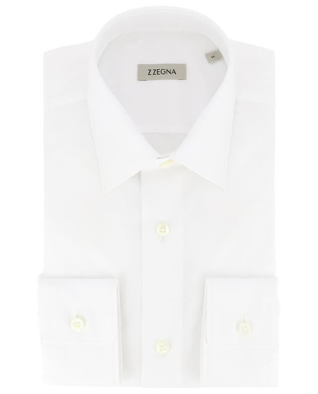 Drop 8 slim fit cotton shirt Z ZEGNA