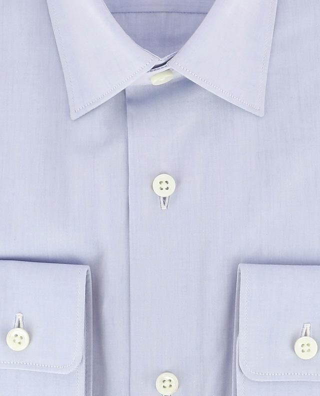 Drop 8 slim fit cotton shirt Z ZEGNA
