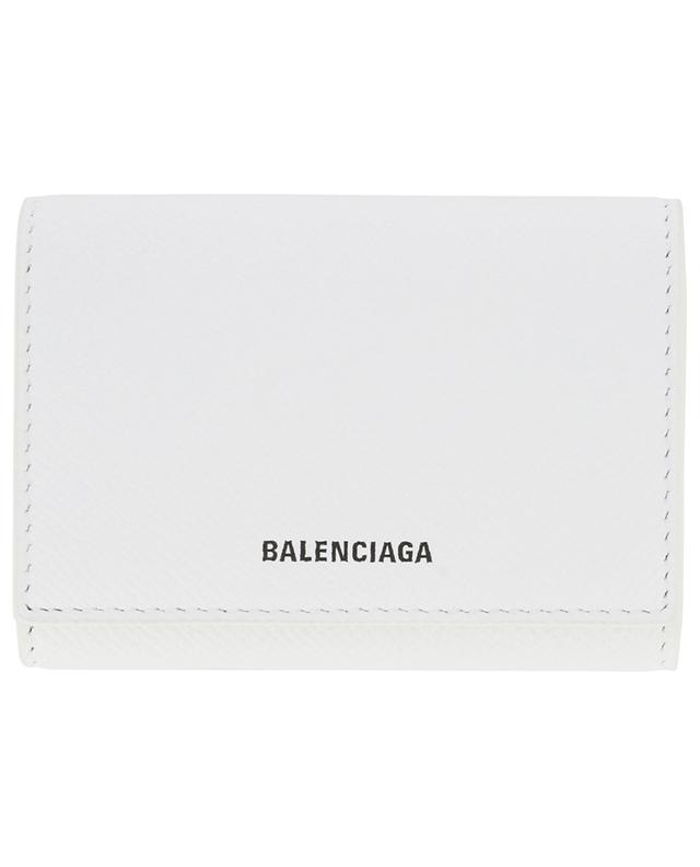 Porte-cartes en cuir grainé Ville Accordeon BALENCIAGA