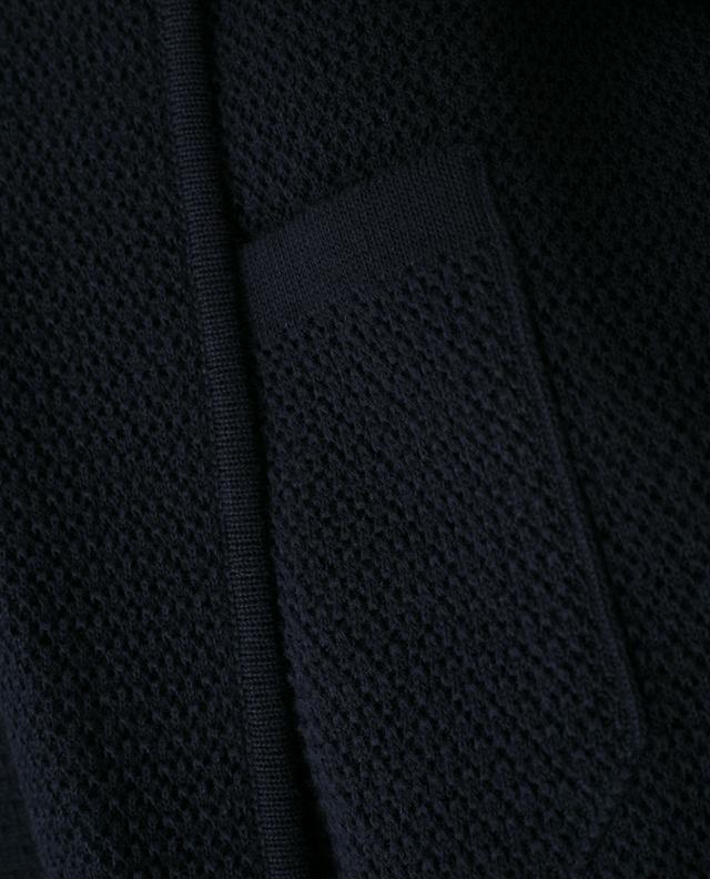Textured cotton cardigan Z ZEGNA
