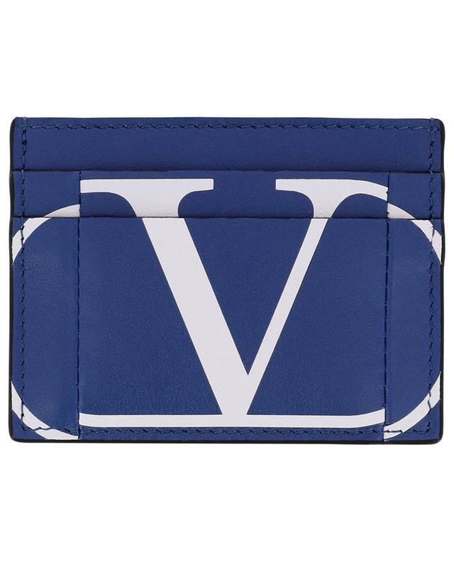 Porte-cartes en cuir VLOGO Inlay VALENTINO