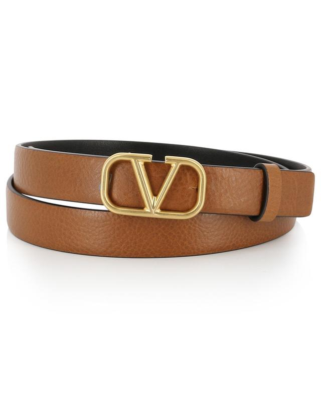 VRING grained leather belt VALENTINO