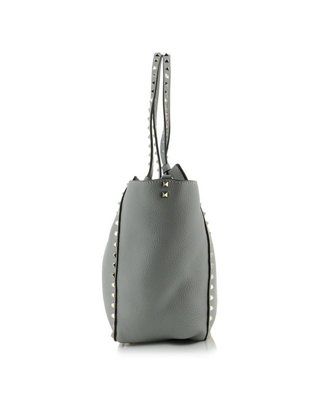 Rockstud grained leather tote bag VALENTINO