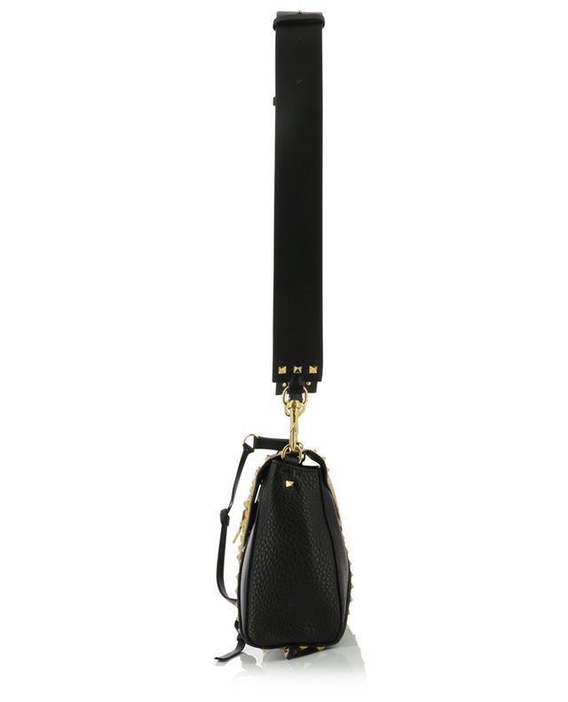 Rockstud Hype grained leather shoulder bag VALENTINO