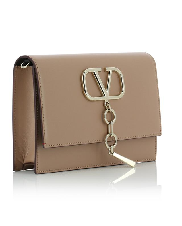 VCASE Small shiny leather chain bag VALENTINO