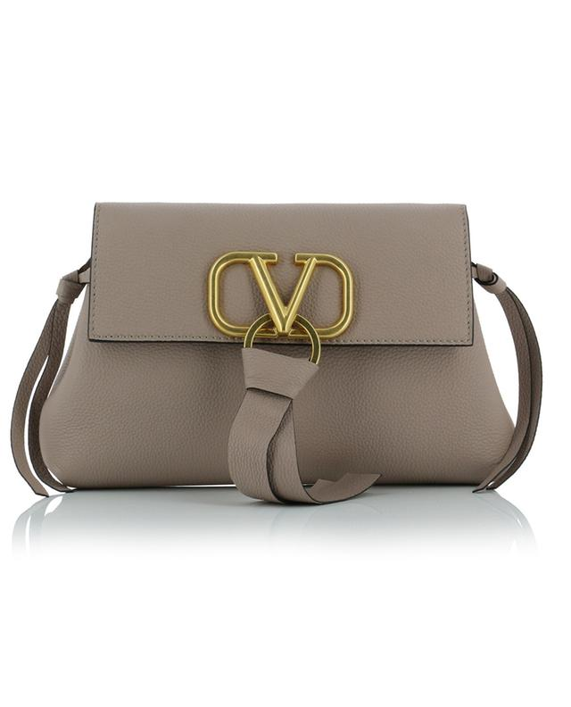 VRING grained leather clutch VALENTINO