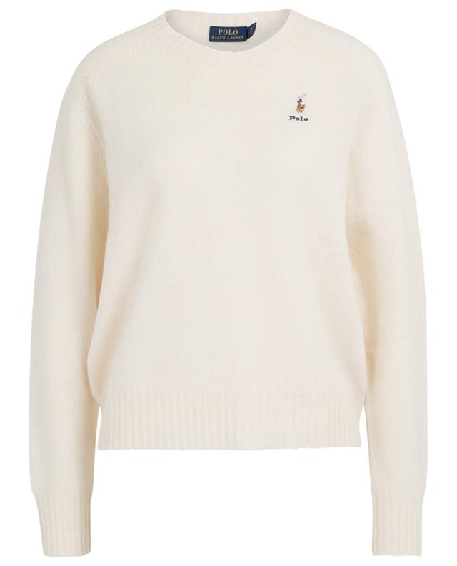 Polo embroidered boxy jumper POLO RALPH LAUREN