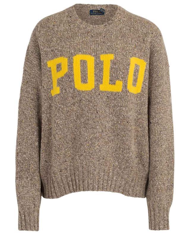 Pull décontracté en laine Polo Intarsia POLO RALPH LAUREN