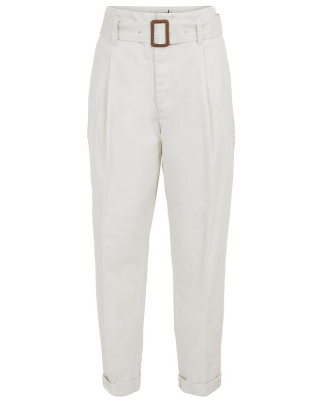 Tapered leg chino trousers with belt POLO RALPH LAUREN