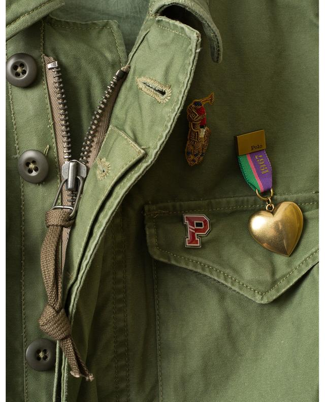 Lightweight used look parka with pins POLO RALPH LAUREN