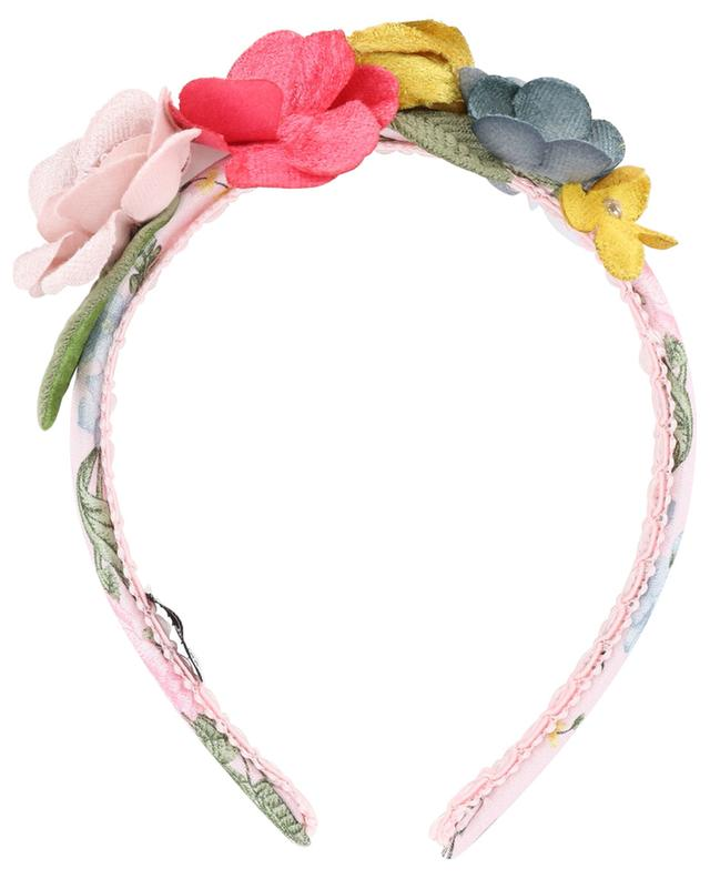 Headband with florals MONNALISA