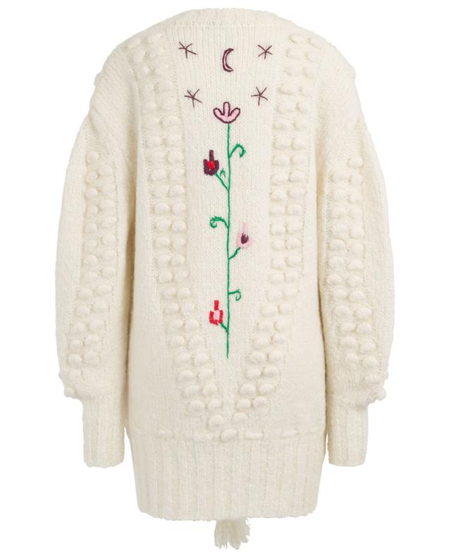 Gloria embroidered mohair blend cardigan HAYLEY MENZIES