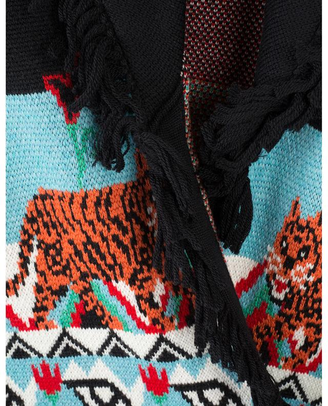 Manteau tricot jacquard Tigress HAYLEY MENZIES