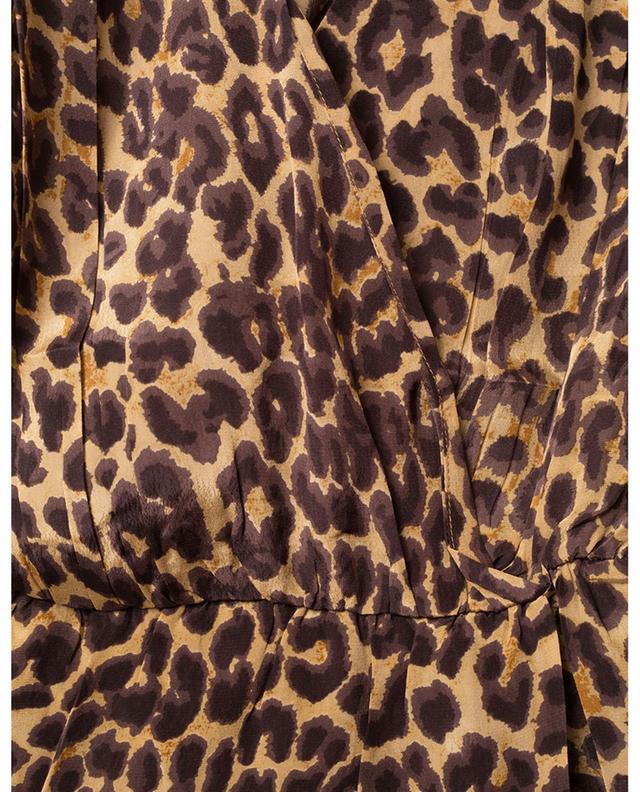 Scott panther print mini dress MES DEMOISELLES