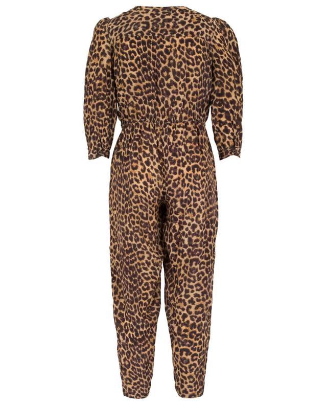 Slash breezy leopard print jumpsuit MES DEMOISELLES