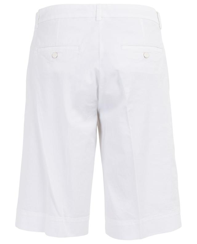 Slate gabardine Bermuda shorts CAMBIO