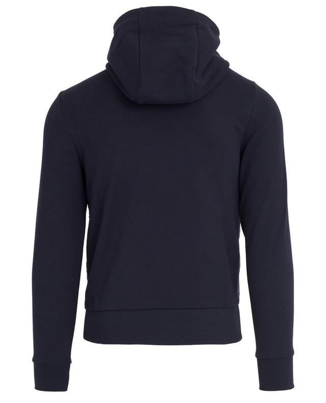 2-in-1-effect quilted zippered hoodie MONCLER