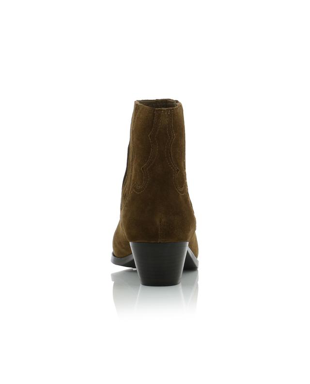 Falcon western style ankle boots ASH