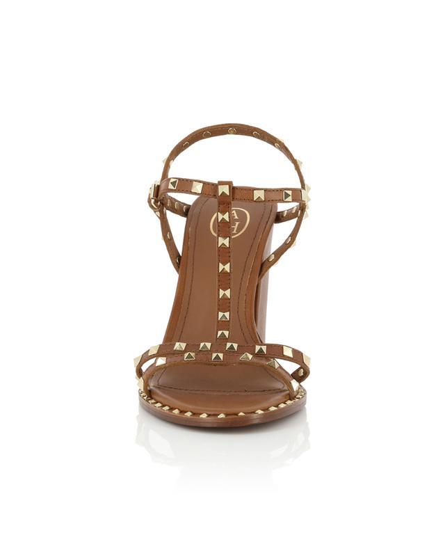 Lips studded block heel sandals ASH