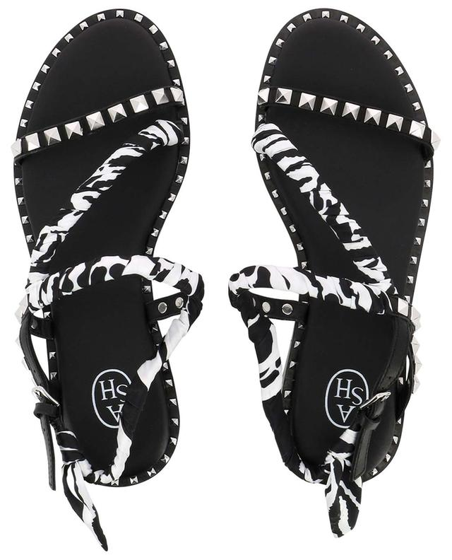 Pattaya flat sandals with scarf detail ASH