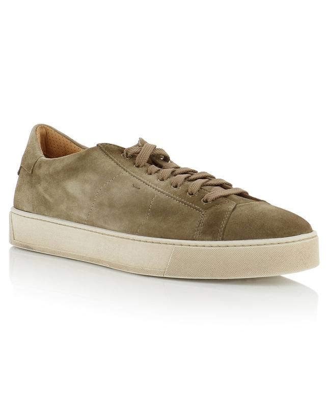 Sneakers aus Wildleder SANTONI