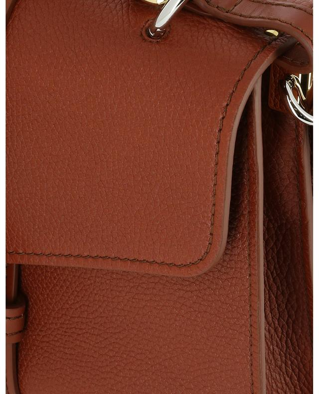 Hand- und Schultertasche aus genarbtem Leder Aby Medium CHLOE