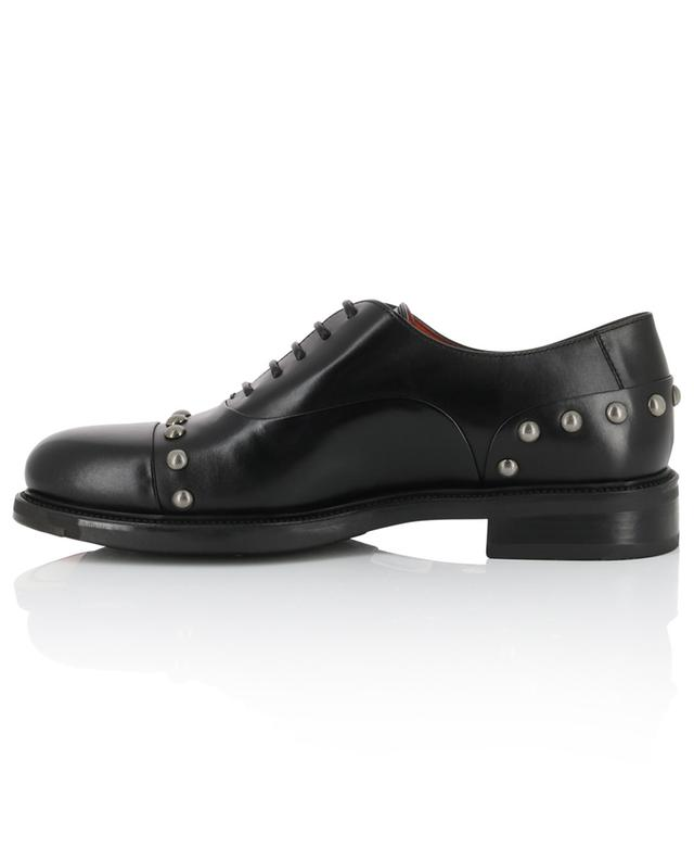 Studded smooth leather brogues SANTONI