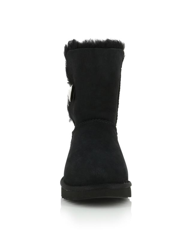 Bottines en cuir lainée retournée Bailey Button Bling UGG
