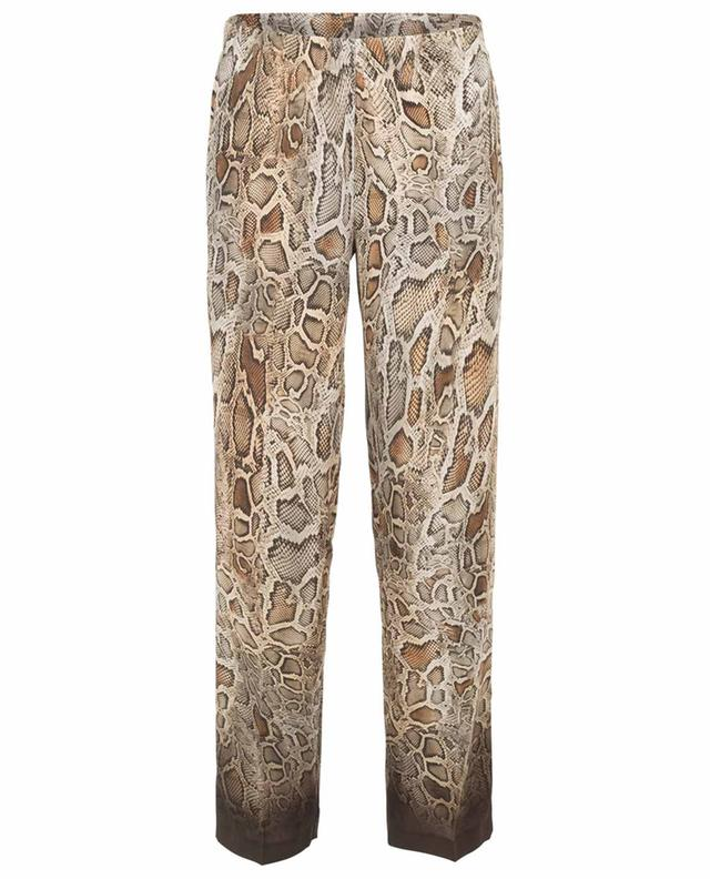 Gabrielle flowy snake print trousers CAMBIO