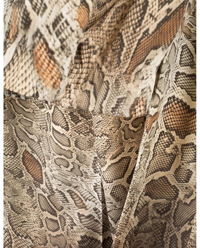 Pantalon fluide imprimé serpent Gabrielle CAMBIO