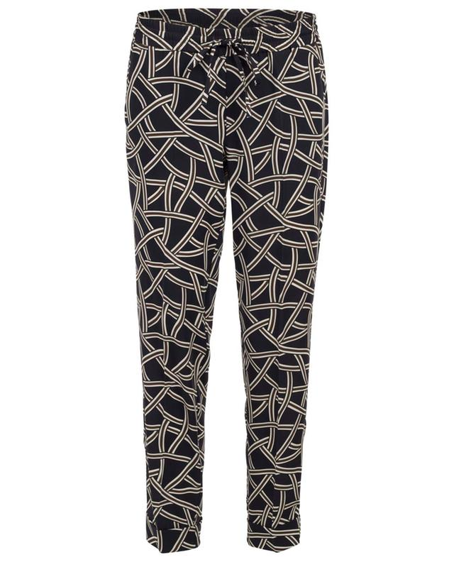 Kiki breezy printed trousers CAMBIO