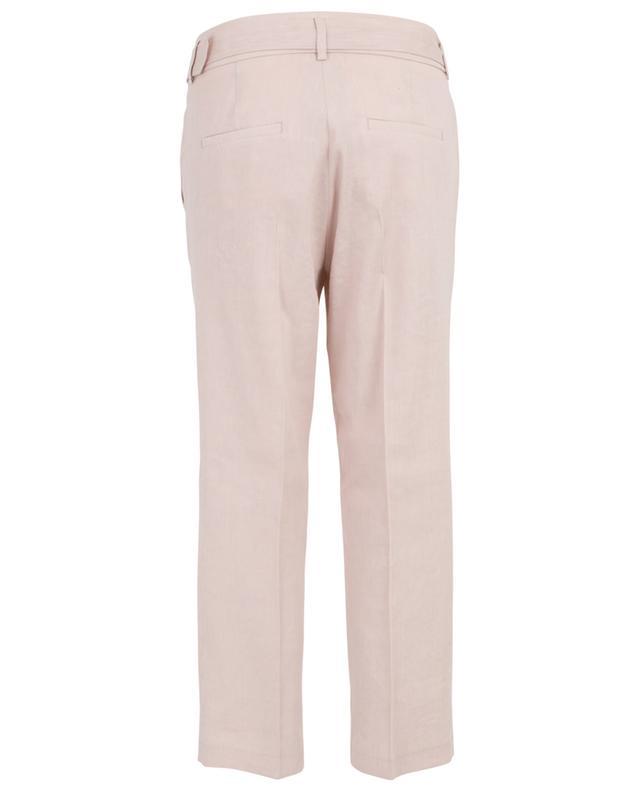 Pantalon droit en lin mélangé Claire CAMBIO
