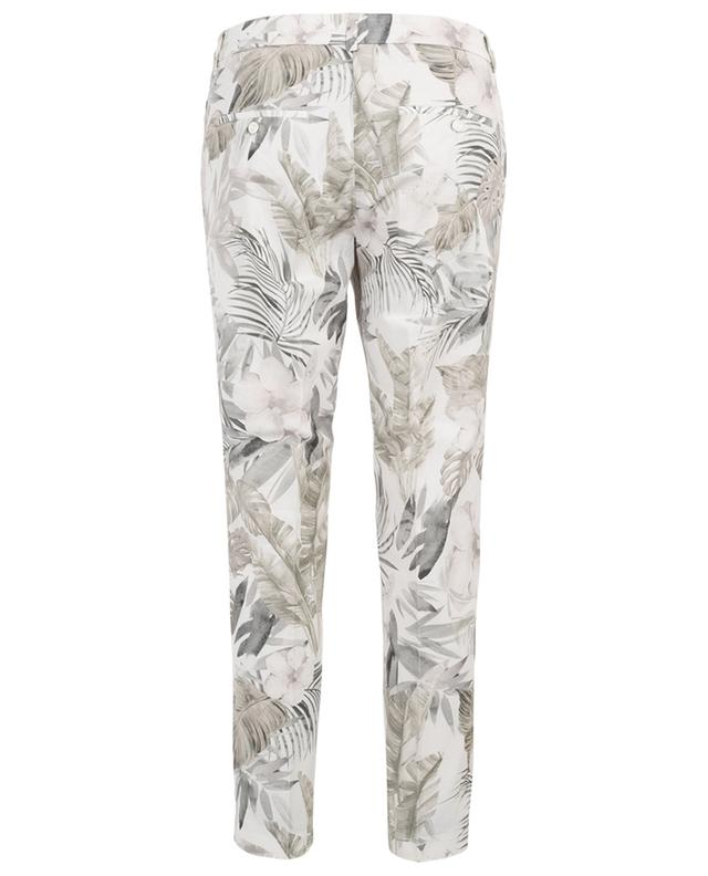 Stella floral slim fit chino trousers CAMBIO
