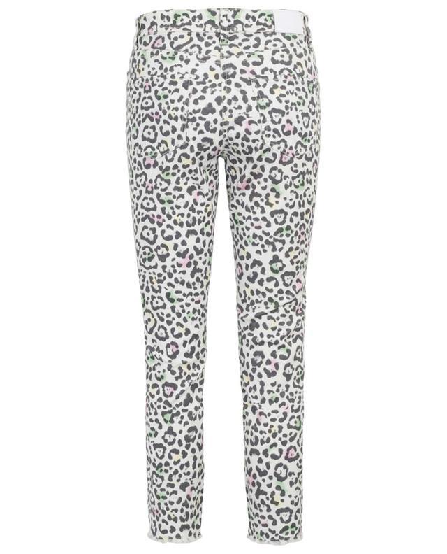 Jean slim raccourci léopard multicolore Parla Short CAMBIO