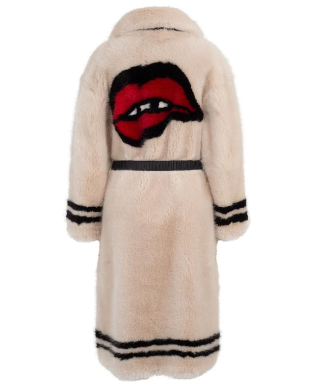 Faux fur coat ERMANNO SCERVINO
