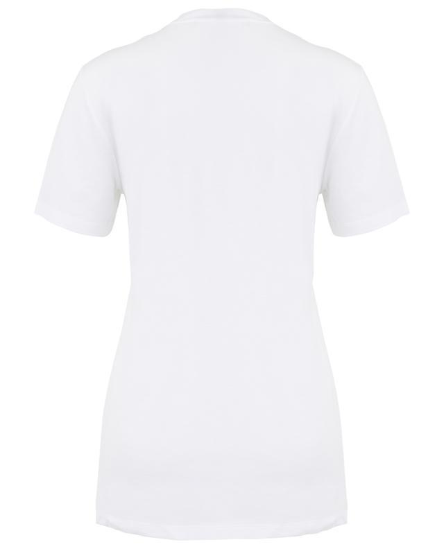Crystal slogan T-shirt ERMANNO SCERVINO