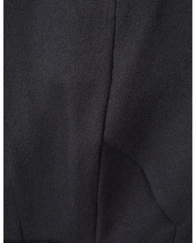 Pantalon large en laine, soie et cachemire ERMANNO SCERVINO