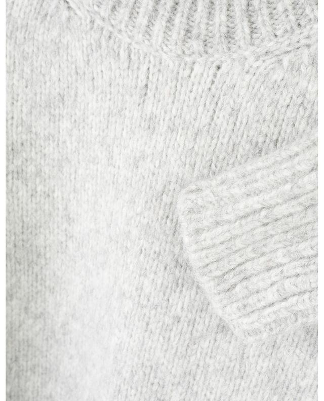 Thick alpaca jumper with mock collar ERMANNO SCERVINO