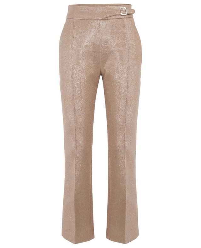 Sparkling flared trousers ERMANNO SCERVINO