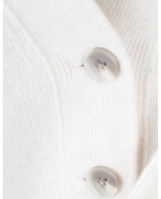 Short V-neck cashmere cardigan VINCE