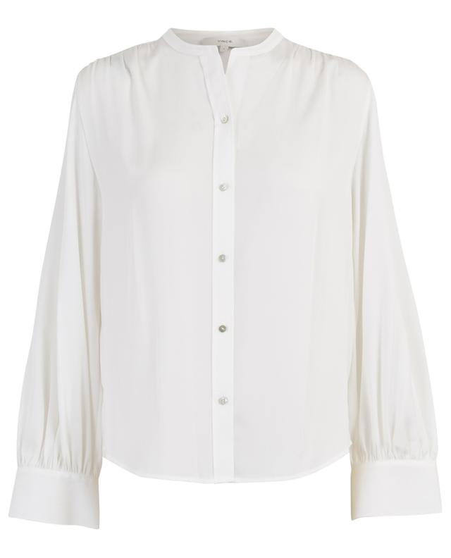 Stretch silk shirt VINCE