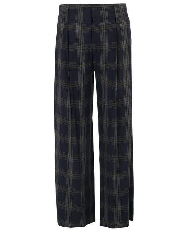 Pantalon large à carreaux VINCE