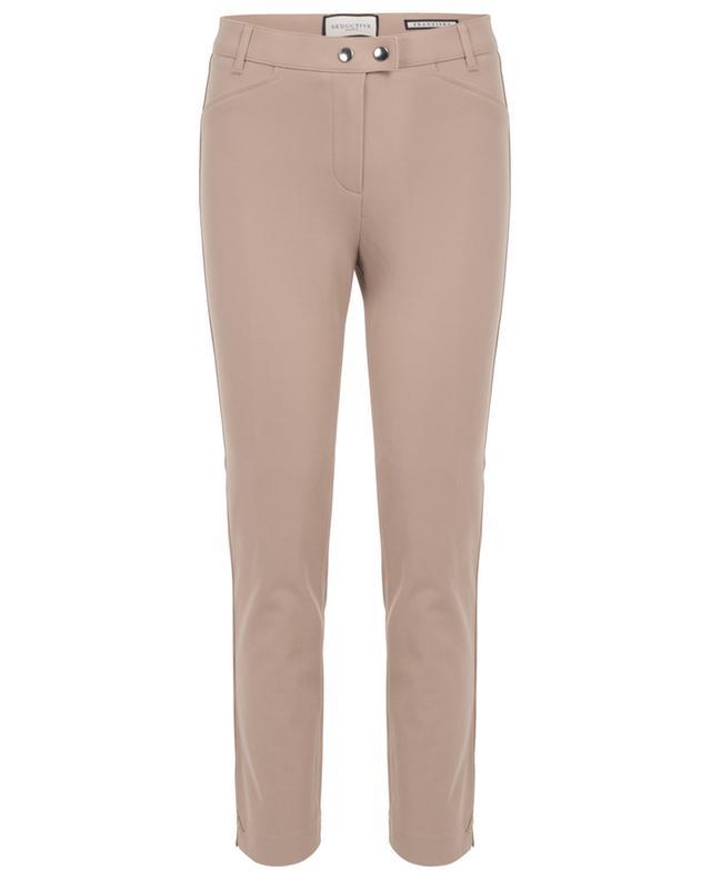 Franziska slim fit cotton twill trousers SEDUCTIVE